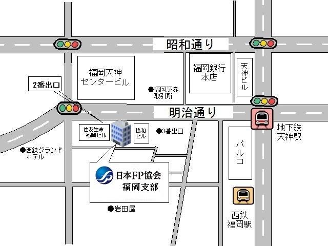 福岡支部地図画像